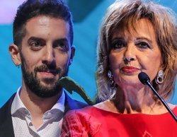 """El buen rollo entre David Broncano y María Teresa Campos en los Ondas 2019: """"Nos vemos en la discoteca"""""""