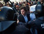 Enfrentamiento entre el Pequeño Nicolás y los CDR en la estación de Sants de Barcelona
