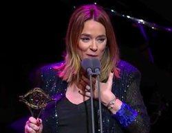 """El sentido agradecimiento de Toñi Moreno a Canal Sur en los Premios Iris 2019: """"Sé que ahí puedo equivocarme"""""""