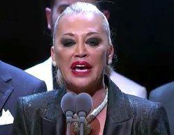 """El reivindicativo discurso de Belén Esteban en los Premios Iris 2019: """"A 'Sálvame' siempre se le exige más"""""""