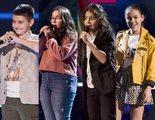 'La Voz Kids': Ana, Maksym, Juan Miguel y Marta, concursantes eliminados en la primera noche de Asaltos