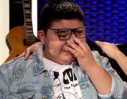 'La Voz Kids': Alan rompe a llorar tras defender su actuación con afonía