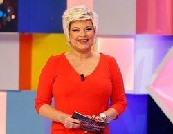 Así fue la vuelta de Terelu Campos como presentadora a Telemadrid en 'Aquellos maravillosos años'