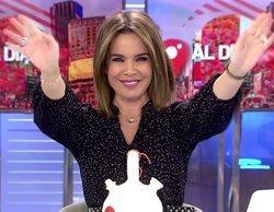 """La emotiva despedida de Carme Chaparro de 'Cuatro al día': """"Esto ha sido un sueño"""""""