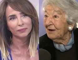 María Patiño se emociona al recordar en 'Socialité' a Asunción Balaguer tras su muerte