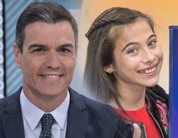 """Pedro Sánchez y otros famosos felicitan a Melani por su actuación en Eurovisión Junior 2019: """"¡Increíble!"""""""