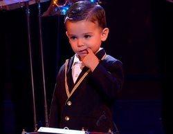 'Got Talent': Así ha sido la actuación en semifinal con Pase de Oro incluido de Hugo, el niño del tambor