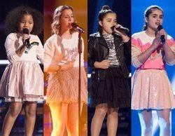 'La Voz Kids': Yolaini, Laura, Saira y Marta, concursantes eliminadas en la segunda noche de Asaltos