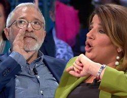 """Xavier Sardà y su desafortunado comentario a María Claver en 'laSexta noche': """"Nena, no te enteras"""""""