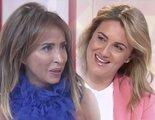 María Patiño se emociona en su entrevista a Carlota Corredera en 'Socialité'