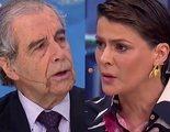 La aplaudida actuación de una presentadora que expulsa a un invitado por negar las torturas de Pinochet