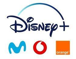 Disney+ busca socios en España y aspira a integrarse en Movistar, Vodafone y Orange
