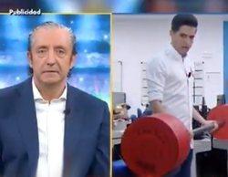 """La surrealista y viral telepromoción de 'El Chiringuito': """"Josep, así dejarás de oler a florecillas"""""""