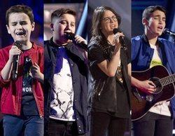 'La Voz Kids': Daniel, Chavito, Sofía y Julio se convierten en los primeros finalistas del talent
