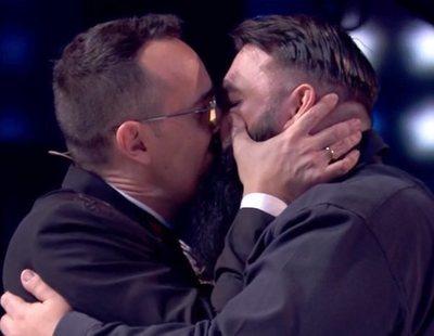 Risto Mejide sorprende en 'Got Talent' al reconciliarse con un concursante con un beso