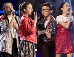 'La Voz Kids': Aysha, Patricia, Salvador e Irene completan el grupo de los ocho finalistas