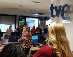 Almudena Ariza expone ante la redacción de informativos de TVE sus planes de futuro
