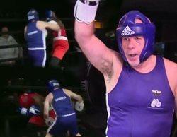 """Alfredo Duro debuta como boxeador ante los vítores de 'El Chiringuito': """"Estamos orgullosos de ti"""""""