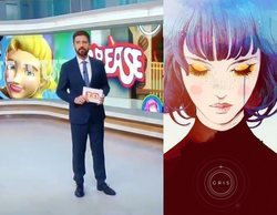 """El error de TV3 al hablar del videojuego """"Gris"""" mostrando en la pantalla imágenes del de """"Grease"""""""