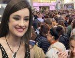 La concentración para apoyar a Adara en 'GH VIP' paraliza Madrid y tiene que intervenir la Policía