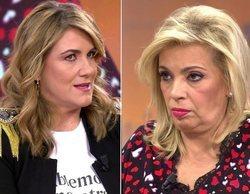 """Carlota Corredera aclara el porqué de sus rencillas con Carmen Borrego: """"No tenemos una relación fluida"""""""