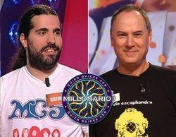 Héctor Puertas ('Pasapalabra') y Erundino Alonso (Los Lobos) concursarán en '¿Quién quiere ser millonario?'