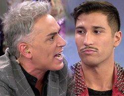 """Gianmarco, indignado con Kiko Hernández en 'Sálvame': """"¡Estoy harto de tus ataques!"""""""