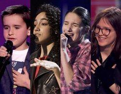 Daniel, Aysha, Irene y Sofía, finalistas definitivos de 'La Voz Kids'