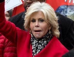 Jane Fonda, arrestada por quinta vez durante las protestas contra el cambio climático