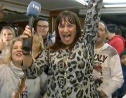"""Una reportera de La 1 descubre en directo que le ha tocado el Gordo: """"¡Mañana no voy a trabajar!"""""""