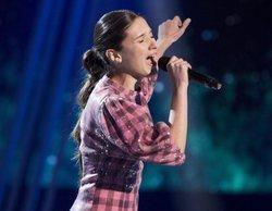 Irene, del equipo de David Bisbal, ganadora de 'La Voz Kids'