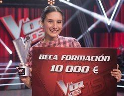 """Irene Gil, ganadora de 'La Voz Kids 5': """"Me encantaría representar a España en Eurovisión Junior"""""""