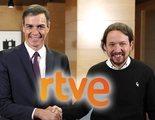 """El acuerdo de Gobierno entre PSOE y Podemos apuesta por """"mejorar el sistema de concurso público"""" de RTVE"""