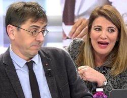 """María Claver y Monedero se enfrentan en 'AR': """"La última vez que nos llamaron anti españoles, nos fusilasteis"""""""