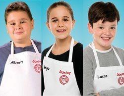 'MasterChef Junior 7': Albert, Vega y Lucas, terceros expulsados de la edición