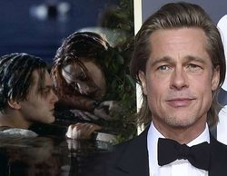 """El guiño de Brad Pitt a """"Titanic"""" en los Globos de Oro 2020: """"Hubiera compartido la tabla"""""""