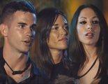 """El tenso reencuentro de Álex y Fiama con Melani en 'La isla de las tentaciones': """"Vienes con ganas de guerra"""""""