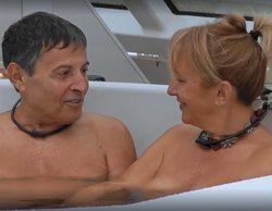 """El estreno de 'First Dates Crucero' trae el primer """"edredoning"""" con una pareja de nudistas"""