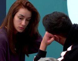 El emocionante encuentro entre Adara y Gianmarco en 'El tiempo del descuento' lleno de lágrimas y reproches