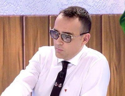 Risto Mejide lleva la contraria a Mariló Montero y también se pone el pin antifascista