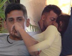 El inesperado beso entre Fani y Rubén mientras Christofer estaba de bajón en 'La isla de las tentaciones'
