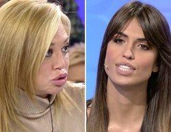 """Guerra abierta entre Belén Esteban y Sofía Suescun con cruce de acusaciones: """"¡Vete a la mierda!"""""""