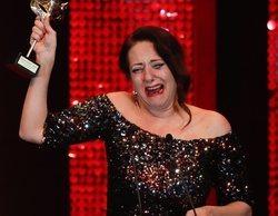 """Yolanda Ramos recoge su Premio Feroz en un mar de lágrimas: """"Ser mujer cómica en este país es muy difícil"""""""
