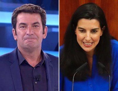 Rocío Monasterio la lía al publicar datos privados de Arturo Valls en redes sociales
