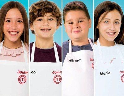 Lu, María, Albert y Leo, finalistas de 'MasterChef Junior 7'