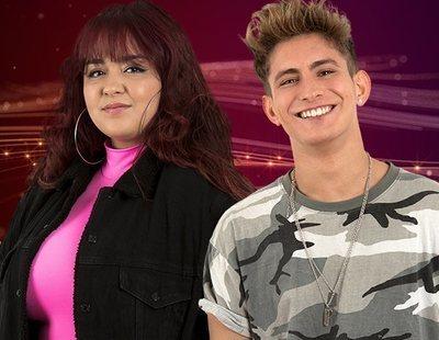 Ariadna y Nick, concursantes nominados de la Gala 1 de 'OT 2020'