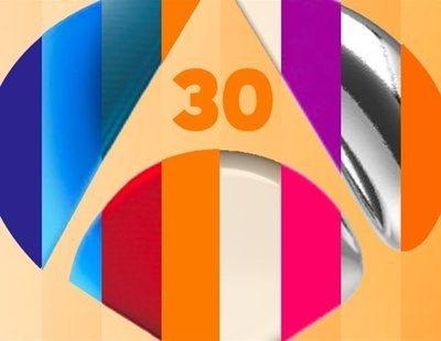 30 años de historia de Antena 3 a través de la evolución de su línea gráfica
