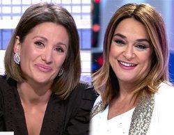 """Toñi Moreno comparte su emoción en 'MyHyV' tras ser madre: """"Cuando le vi la cara me puse a llorar"""""""