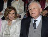 María Teresa Campos y Paolo Vasile protagonizan un inesperado acercamiento en la Madrid Fashion Week