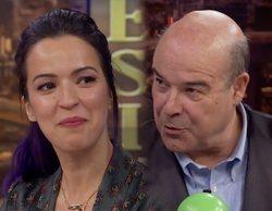 'El hormiguero': Antonio Resines y Verónica Sánchez se reencuentran y lanzan un guiño a 'Los Serrano'